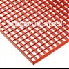 Stegerud Steel pressdurk P 3333/30x3 pulvermålad, röd