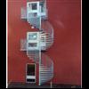 Stegerud Steel spiraltrappor av stål