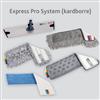 Vileda Golvrengöring - Express Pro System kardborremoppar i mikrofiber