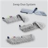 Vileda Golvrengöring - Swep Duo System, dubbelsidiga mikrofibermoppar