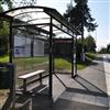 Hammerglass Väderskydd, busshall plats