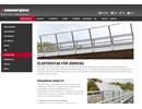 Hammerglass Elskyddstak på webbplats
