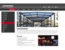 Hammerglass Tak och vägg på webbplats