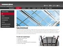 Hammerglass Taklösningar på webbplats