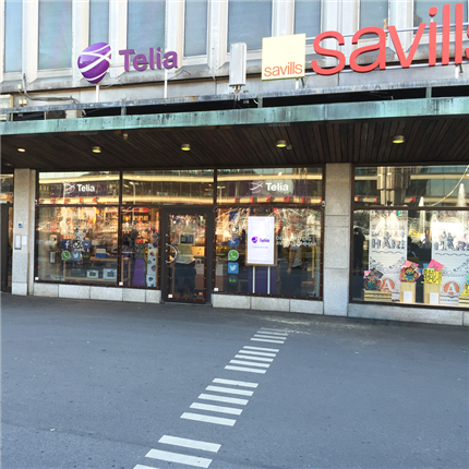 Hammerglass Add-On, Telia-butik