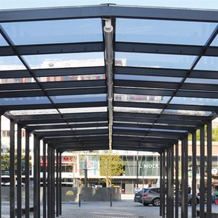 Hammerglass Taklösningar för Infrastruktur