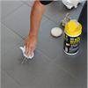 101 Big Wipes rengöringsdukar på golv