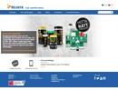 Multiclean rengöringsspray på webbplats