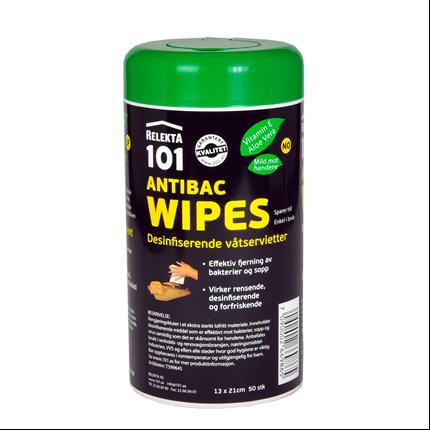 Antibac Wipes 101