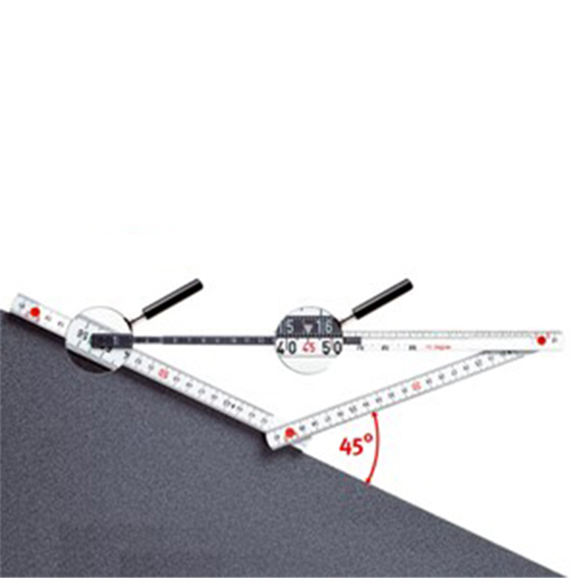 101 Meterstock med vinkelmätare