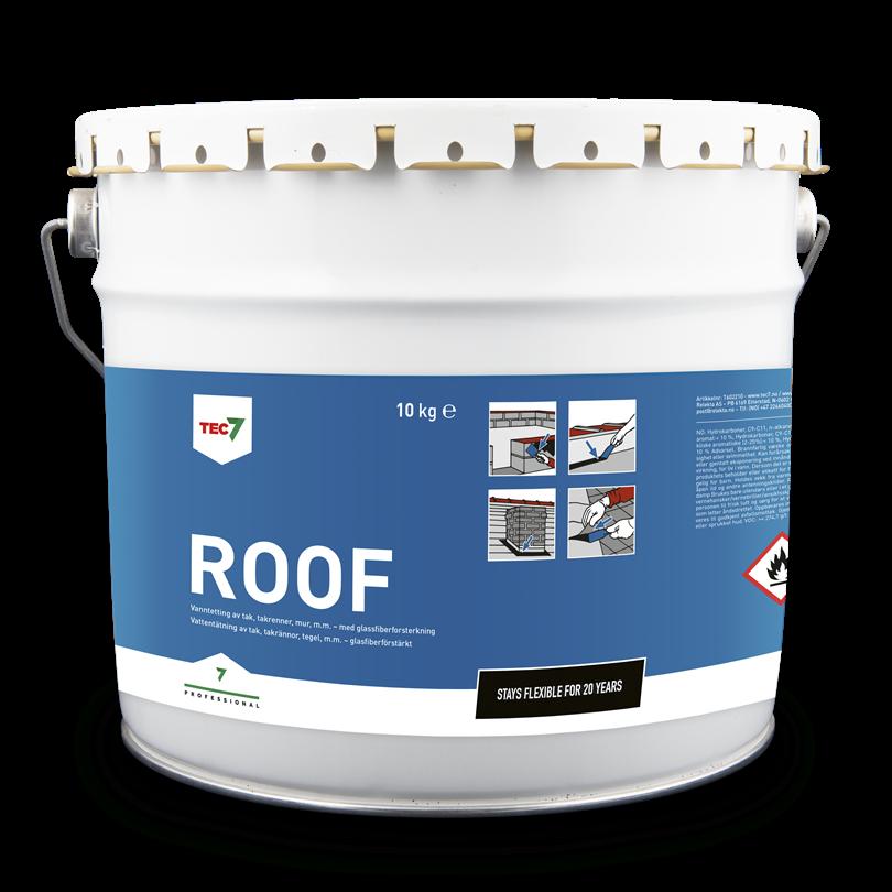 Tec7 Roof gummiasfalt