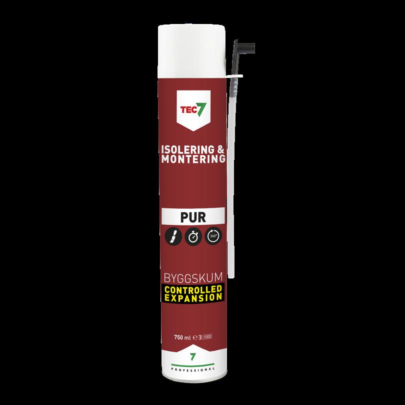 Pur7 byggskum, 750 ml