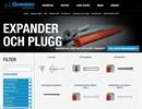Expander och Plugg på webbplats