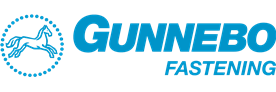 Gunnebo Fastening logo blue