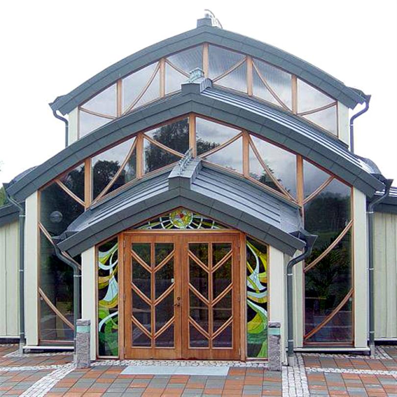 Fönsterspecialisten måttbeställda fönster, entré Landvetter kapell