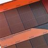 Soltech Facade Color solcellsfasad, orange