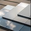 Soltech Facade Color solcellsfasader med blankt, reflektionsfritt alt frostat främre glas