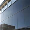 Soltech Facade svarta solcellsfasader på husfasad