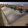 Soltech ShingEl takpannor på flerfamiljshustak