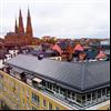 Soltech ShingEl takpannor på Vasakronans fastigheter, Uppsala