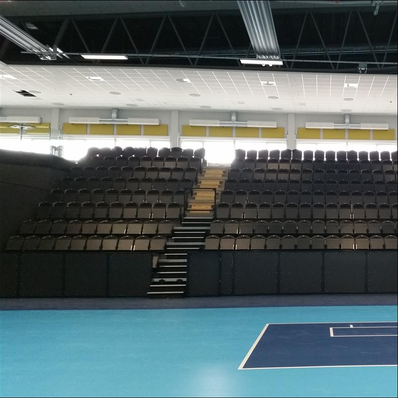 Alfing har levererat Stadion Comfort stolar till Gavlehov friidrotts- och sportarenan. Stolarna är monterade på betonggradäng och på Alfings teleskopsläktare. Friidrotts- och sportarenan innehåller både en friidrottshall, en större sporthall för olika slags idrotter samt en mindre träningshall. Sporthallen har cirka 2000 sittplatser och friidrottshallen har cirka 1000 åskådarplatser. Alfings Stadion Comfort läktarstol samt teleskopsläktaren finns i stora Sporthallen.