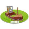 Trollverkstan Fiskebåt nr 151 lekplatsutrustning