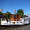 Isotrol Finish rostskyddsfärg ovan vattenlinjen på båt