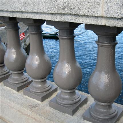 Isoguard Pansar rostskyddsfärg på Norrrstömsbron, Stockholm