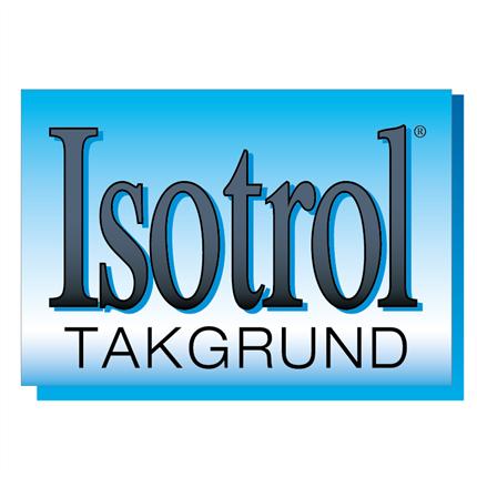 Isotrol Takgrund logotyp