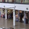 Kynningsrud Balkar och pelare i köpcentrum