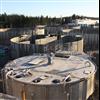 C3C tanksystem -  cirkulära bassänger, Sobacken ARV, Borås