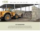C3C blocksystem på webbplats
