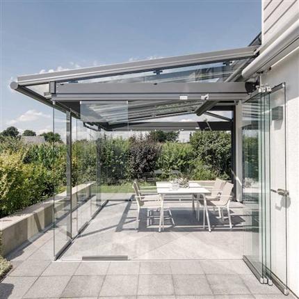 Solarlux terrasstak och uterum