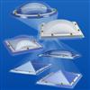 KlarLux kvadratiska, cirkulära och rektangulära takljuskupoler
