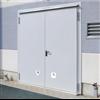 Ljudisolerande dörr dw 67-2/HS med tjockfals, Rw 55 dB