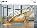 IMEX Täckfilm Blå på webbplats