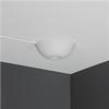 CableCup Hide, vit täckkåpa i tak