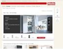 Miele Kyl-, frys och vinskåp på webbplats