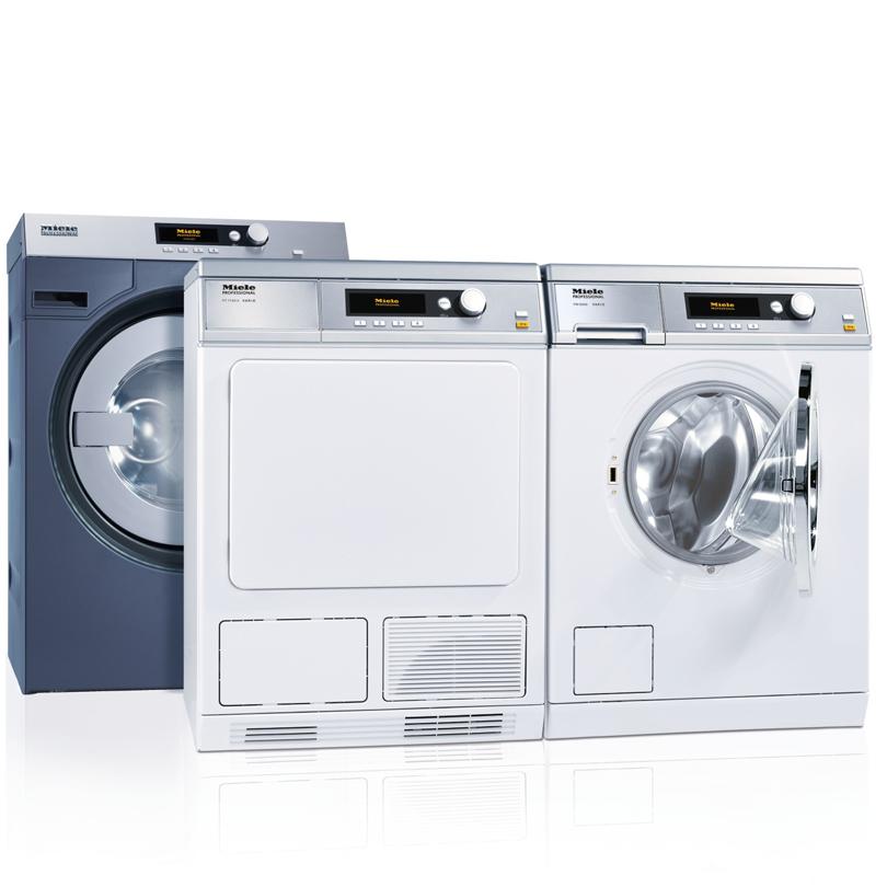 Miele tvättmaskine och torktumlare för fastigheter