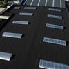 RubberShell SA EPDM-gummiduk för låglutande tak och rännor