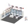 LonWorks®-nätverk, integrering av LonWorks®-komponenter