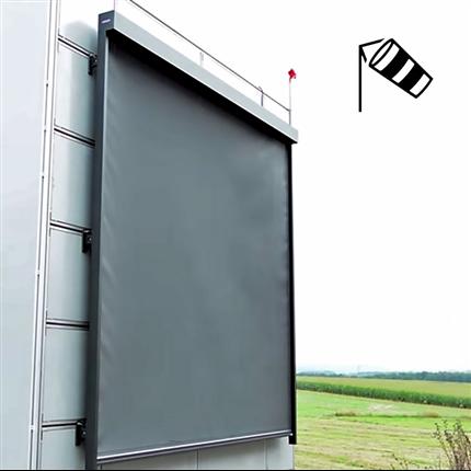 Fönstermarkis med vindtålig ZIP-funktion