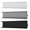 HTH VH-7 greppspår, vit, stål/alu, svart
