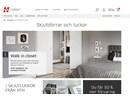 HTH garderobsinredning på webbplats