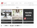 HTH Shape lister på webbplats