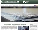 Stäckmetall på webbplats