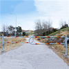 Skandinaviska Områdsskydd Bilspärr Mindre väg