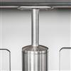 Q-line glasräcke, detalj