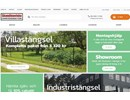Nätad villagrind på webbplats