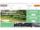 Balkongräcke i smide på webbplats
